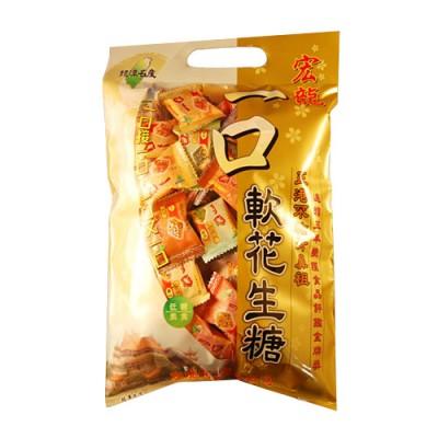 一口軟花生糖 原味 (1200g)